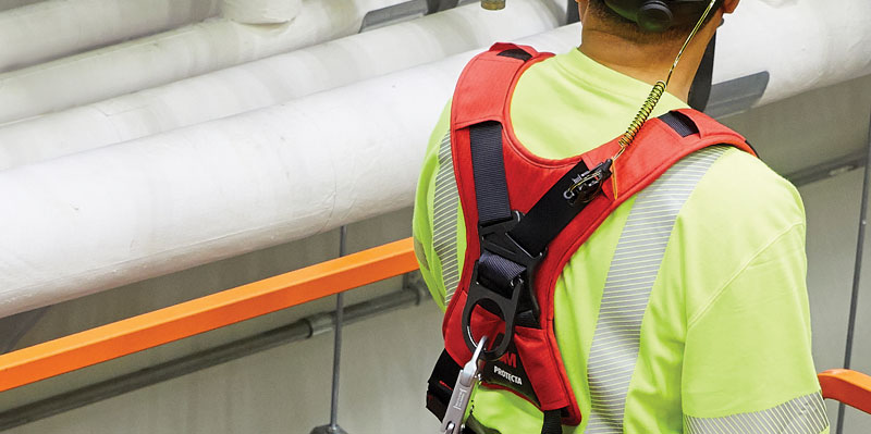 Fall Protection Full-Body Harness