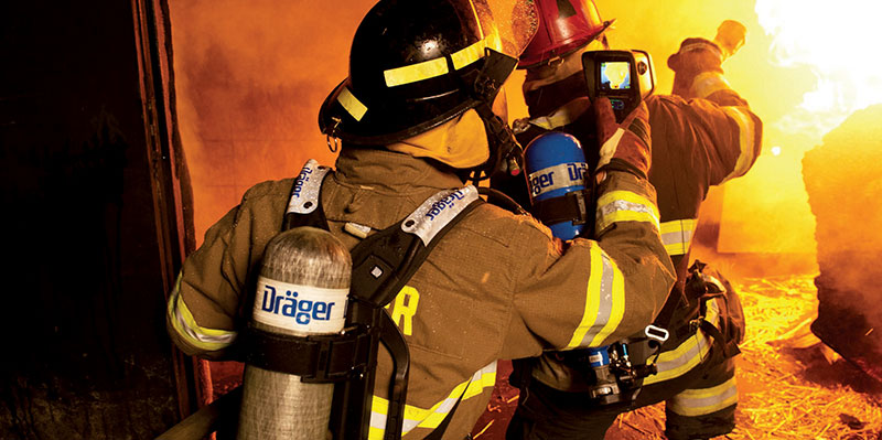 Draeger SCBA Carrying Systems